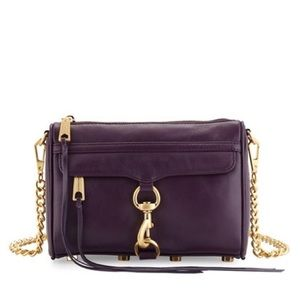 Rebecca Minkoff Mini MAC Purple